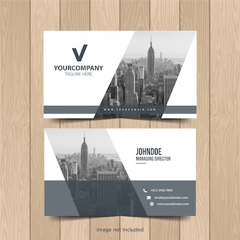 Modern business card template collection