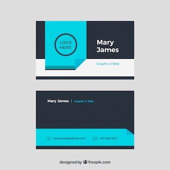 Современная визитная карточка