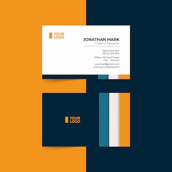 Modern business cards template premium