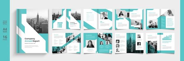 現代のビジネスカタログまたは小冊子テンプレート