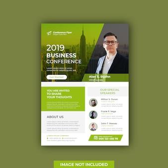 Modern business conference flyer