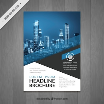 Modern business flyer design