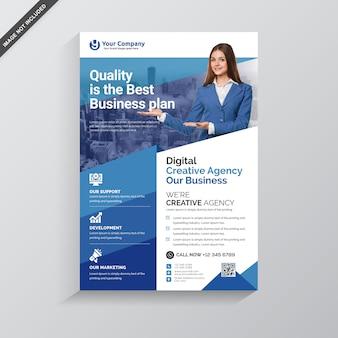 Modern business flyer premium