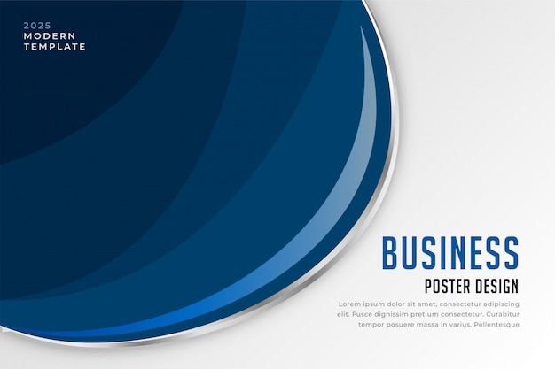 Modern business presentation background