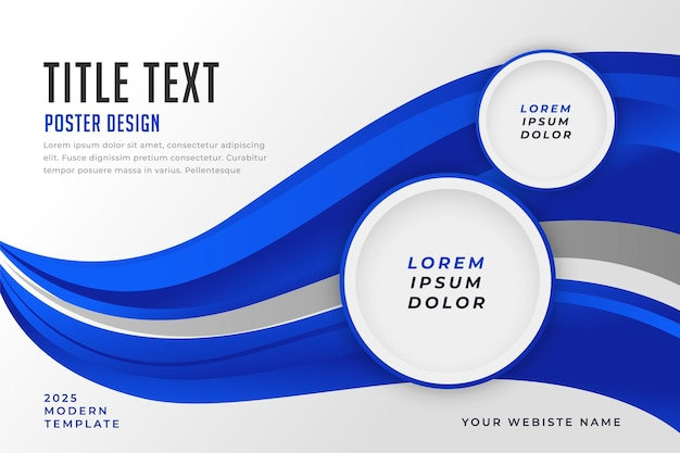 Modern business template design for your presentation