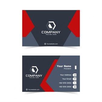 Modern bussiness card design template