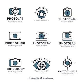 Modern camera logos