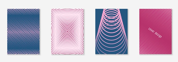 Modern catalog. colorful annual report, folder, report, web app mockup. purple and pink. modern catalog with minimalist geometric line and trendy shapes.