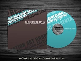 Modern cd cover design