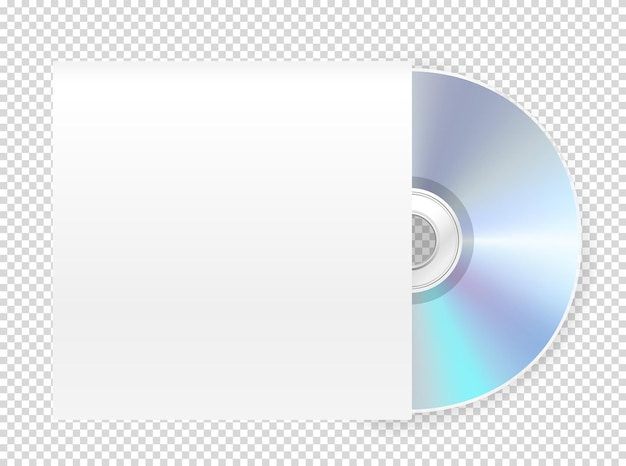 Modern cdrom with cover