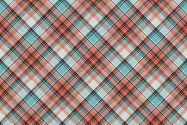 Modern check plaid fabric texture seamless pattern