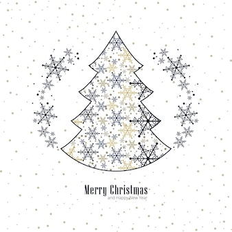 Современный фон Рождества