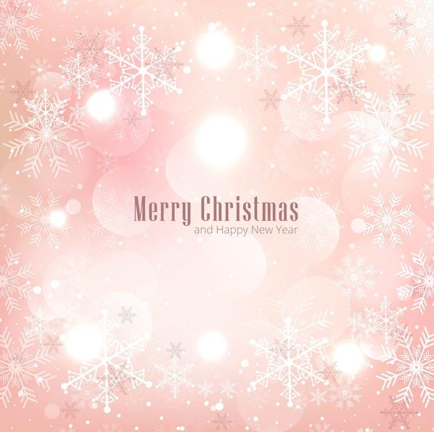現代のクリスマスの背景