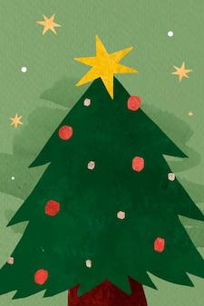 Современная рождественская елка