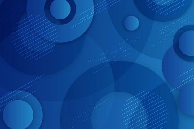 Carta da parati classica blu moderna
