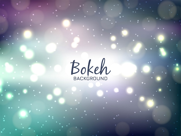 Modern colorful bokeh background
