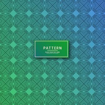 モダンなカラフルな幾何学パターンのイラスト