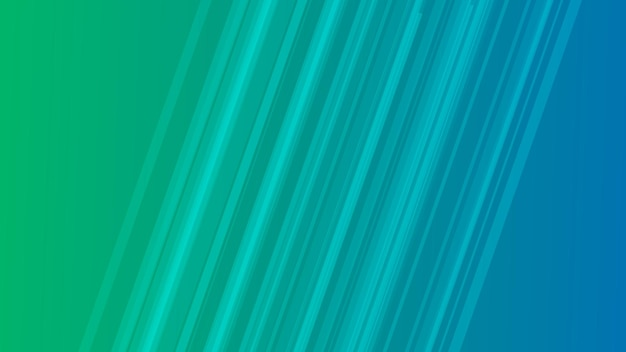Modern colorful gradient background with lines. green geometric abstract presentation backdrop. vector illustration