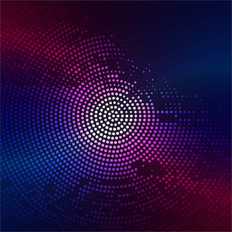Modern colorful halftone background