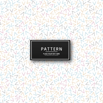 Modern colorful memphis pattern background vector