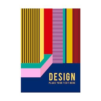 Современная графика графического дизайна плакатов