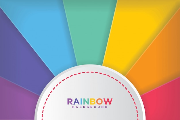 Modern colorful rainbow backgrounds.