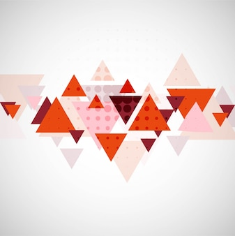 Modern colorful triangle background