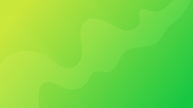 Modern colorful wave curve gradient background. green minimal abstract presentation backdrop. vector illustration