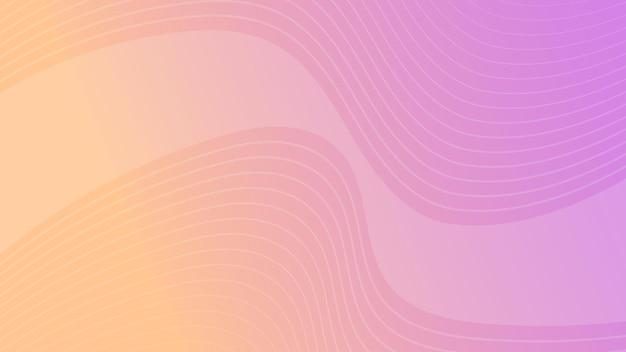 Modern colorful wave curve gradient background. velvet minimal abstract presentation backdrop. vector illustration