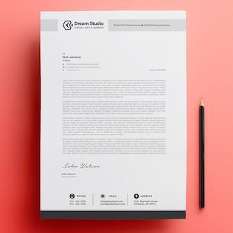 현대 회사 편지지