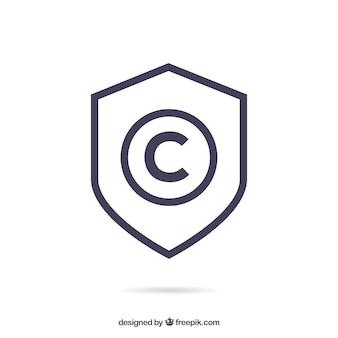 Современный символ авторского права