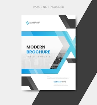 Шаблон обложки брошюры современного корпоративного бизнеса