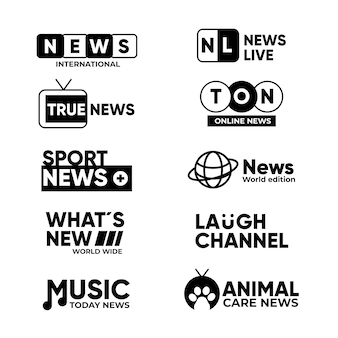 Modern corporate identity logo template