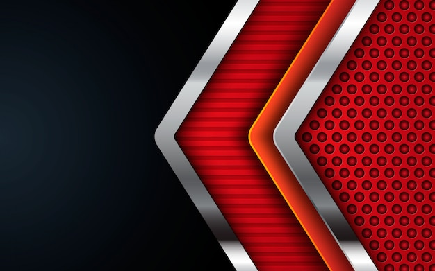 Modern corporate texture orange background