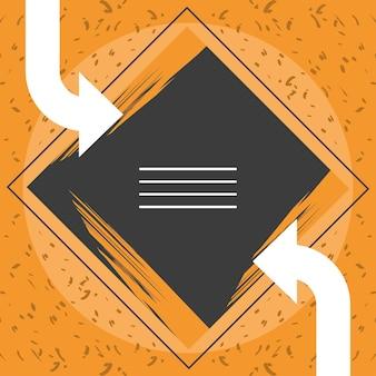 Modern cover editable template design