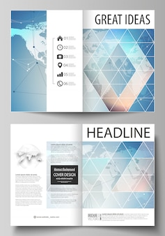 Modern cover  template set