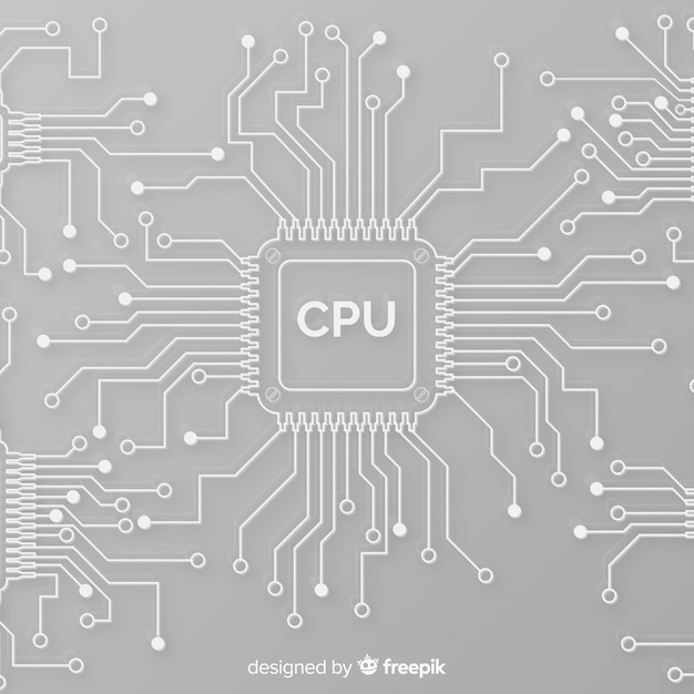 circuit vectors, photos and psd files free downloadmodern cpu background with linear style