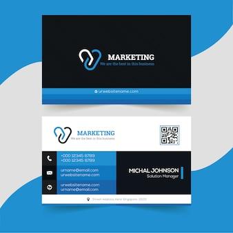 Modern creative business card
