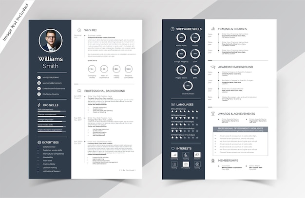 Free Cv Template from img.freepik.com