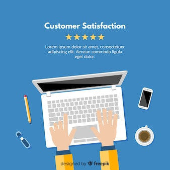Modern customer satisfaction design