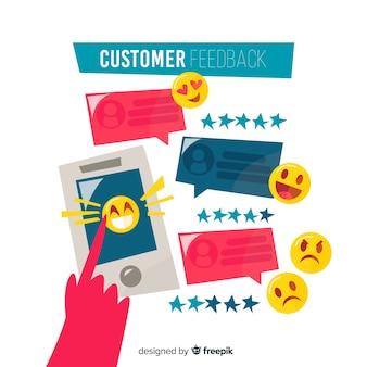 Modern customer satisfaction design