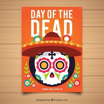 Дневной плакат современного мертвого дня