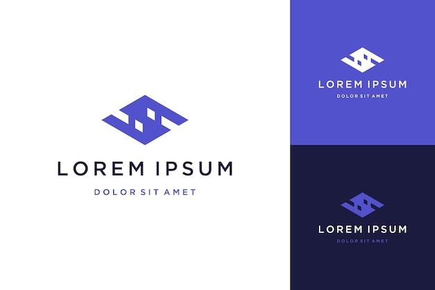Modern design logo or monogram or letter s