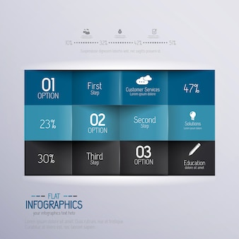 Modern design minimal infographic template - can be used for infographics , numbered banners , horizontal cutout lines , graphic or website.