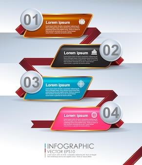 현대적인 디자인 최소한의 스타일 infographic 템플릿입니다.