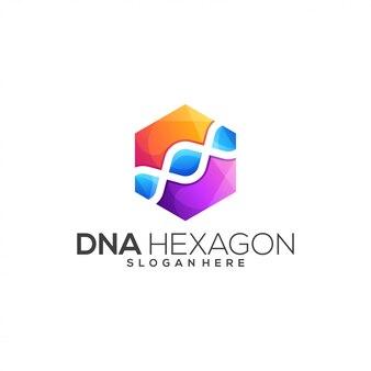 Modern dna logo