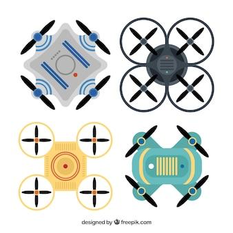 Современные беспилотные летательные аппараты с плоским дизайном