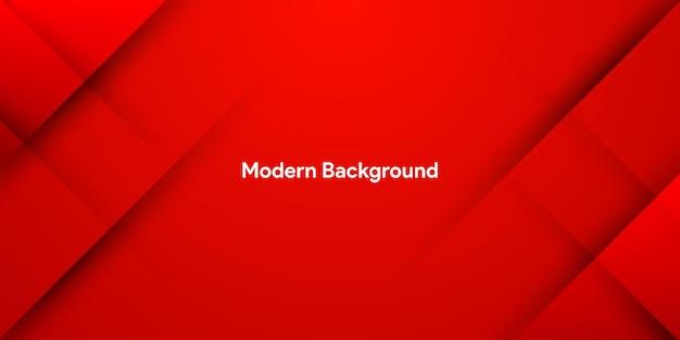 Современный динамичный модный красный абстрактный фон Premium векторы
