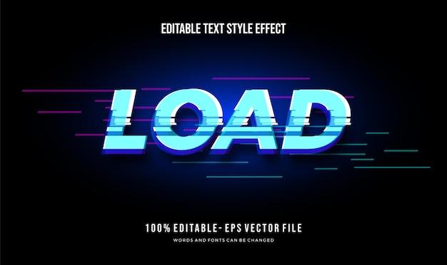 Современный редактируемый эффект стиля текста. редактируемый стиль шрифта.