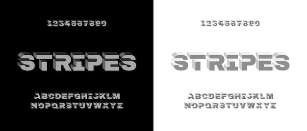 モダンでエレガントなアルファベットフォント。テクノロジー、デジタル、映画のロゴデザインのためのタイポグラフィアーバンスタイルフォント